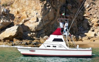 32ft crystalline by redrum sportfishing in cabo san lucas