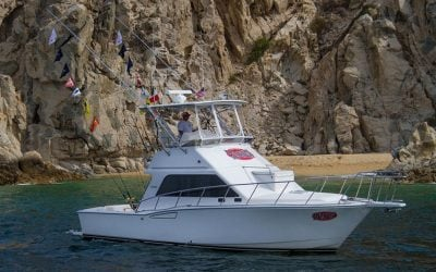 35ft Cabo sport fisher and cabo express sports fishing charter boats in Cabo San Lucas operated by redrumcabo